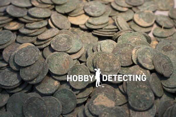 клад римских монет