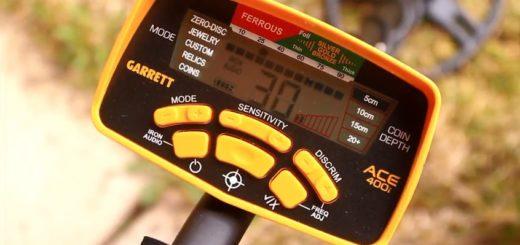 Garrett ACE 400i обзор и тесты