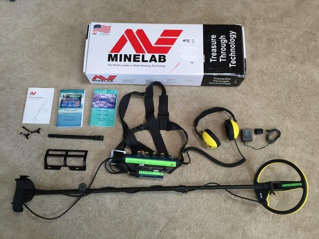 Minelab Excalibur 2 металлоискатель металлодетектор