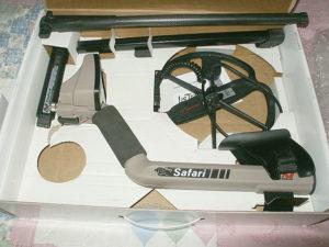 Minelab Safari металлоискатель металлодетектор