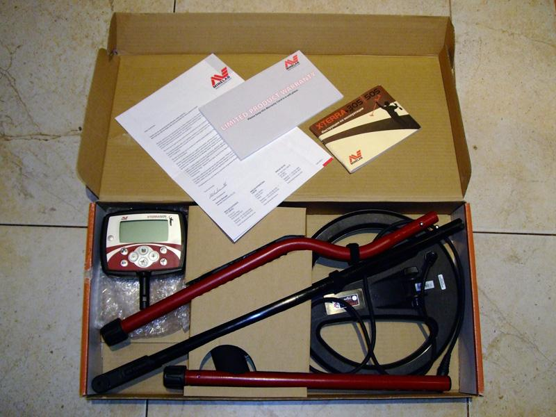 Minelab x-terra 505 - hobby detecting - блог про кладоискате.