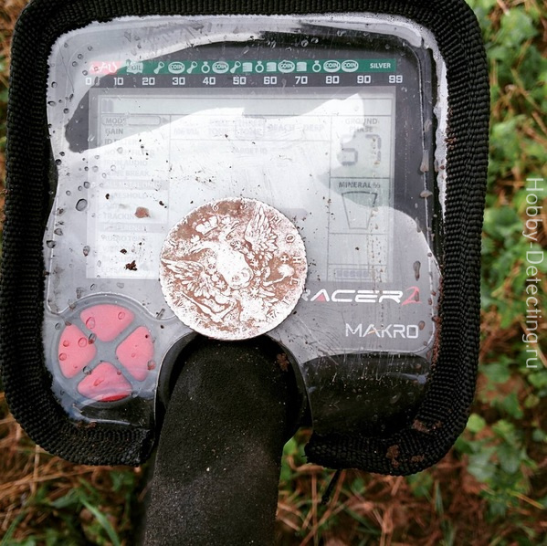 находка один рубль 1 серебро 1765 макро рейсер 2 makro racer 2 коп по монетам старине