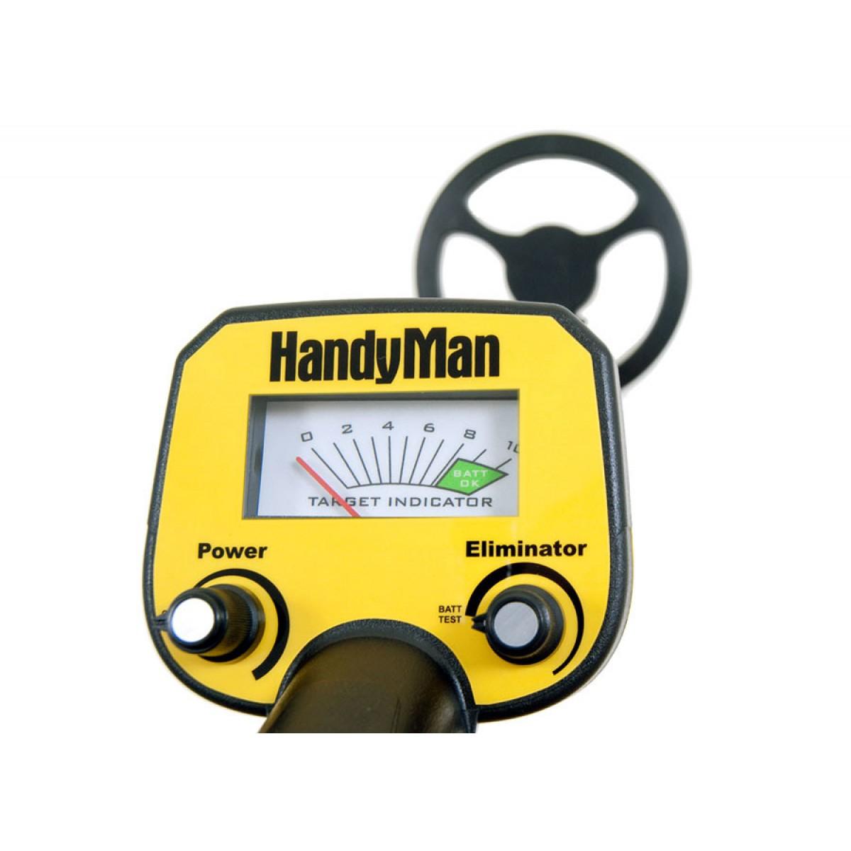 Bounty Hunter HandyMan металлоискатель металлодетектор грунтовый металлодетектор