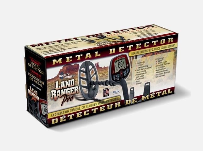Bounty Hunter Land Ranger Pro металлоискатель металлодетектор грунтовый металлодетектор
