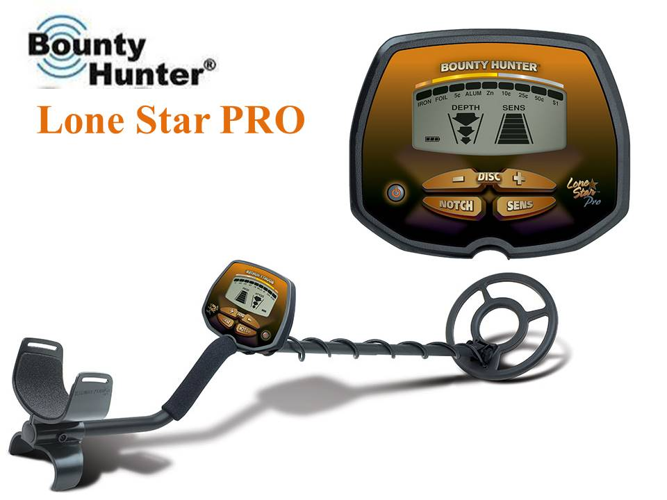 Bounty Hunter Lone Star Pro металлоискатель металлодетектор грунтовый металлодетектор
