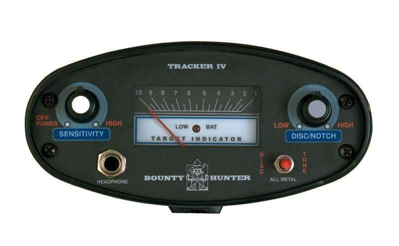 Bounty Hunter Tracker 4 металлоискатель металлодетектор грунтовый металлодетектор