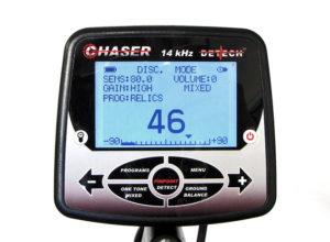 Detech Chaser 14 kHz металлоискатель металлодетектор