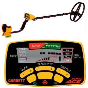 Garrett ACE 350 металлоискатель металлодетектор грунтовый металлодетектор
