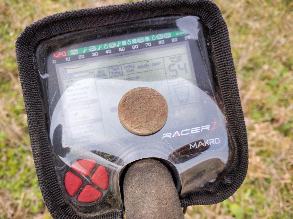 что можно найти на обычном старом поле с металлоискателем?