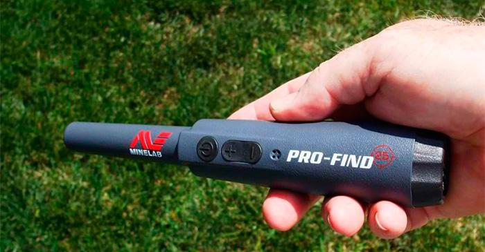 Minelab Pro-Find 25 пинпоинтер подводный IP64