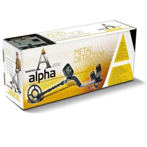 Teknetics Alpha 2000 металлоискатель металлодетектор подводный металлоискат грунтовый металлодетектор