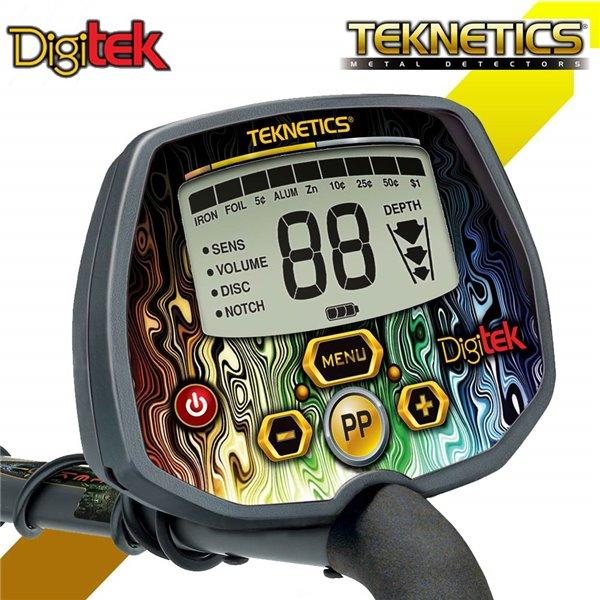 Teknetics Digitek металлоискатель металлодетектор подводный металлоискат грунтовый металлодетектор