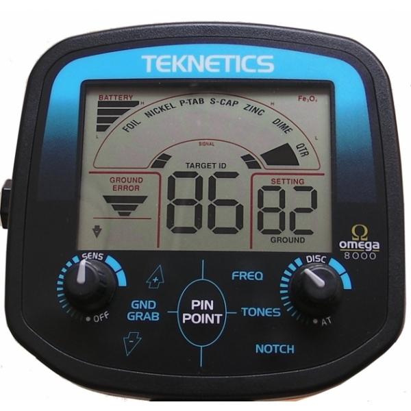 Teknetics Omega 8000 металлоискатель металлодетектор подводный металлоискат грунтовый металлодетектор