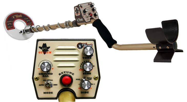 Tesoro Outlaw металлоискатель металлодетектор грунтовый металлодетектор