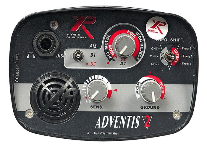 XP Adventis 2 металлоискатель металлодетектор подводный металлоискат грунтовый металлодетектор