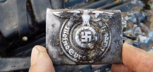 Коп по войне металлоискатель военная археология чёрная археология позиции немецкие немцев СС Вермахт