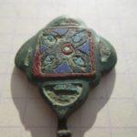 Крестовидная икона Спас Эммануил 12 век (история находки)