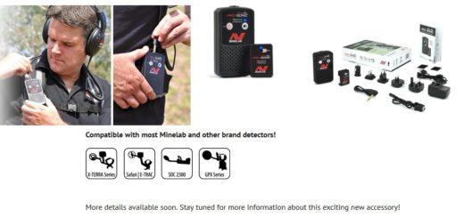 Garrett Z-Lynk или Minelab PRO-SONIC: Кто первый выкинет на рынок новый беспроводной универсальный аудио модуль для металлоискателей?