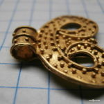 Золотая лунница ЧК (когда маленькая находка хорошо продается)