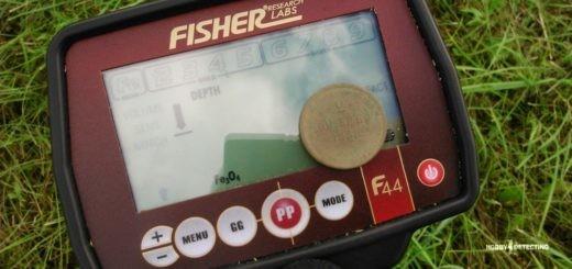Металлоискатель Fisher F44 - мифы и реальность. (Советы копателя+)
