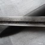 Травление на боевых штыках Вермахта/СС (не обманитесь! Фото+)