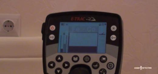 Самое главное, что надо знать в металлоискателе Minelab E-Trac (видео+)