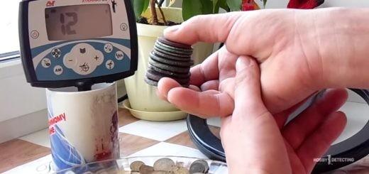 Как Minelab X-Terra 705 не видит стопку монет и как звучат цели на Тёрке (определяем VDI, советы копа+)