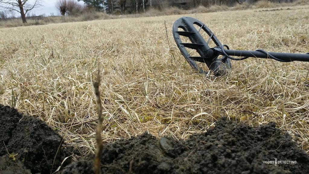 Апрельские покапушки с Фишером F75 (фото+)