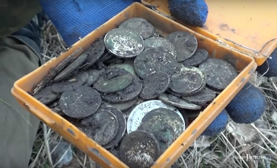 Черные кладоискатели монет видео.