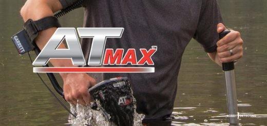 Металлоискатель Garrett AT MAX - что известно и что будет? (Много видео новинки+)