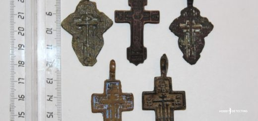 Редкие нательные кресты 14-16 веков. (Определение находок+)