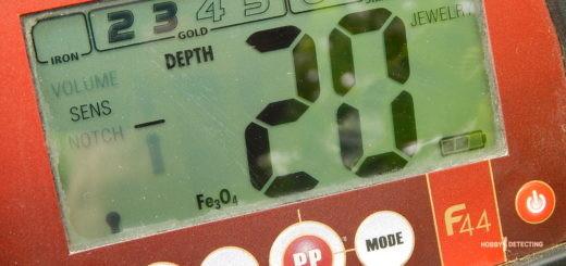 Насколько глубоко видит металлоискатель Fisher F44? (Тест, бюджетник рвёт!)