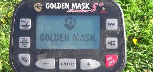 Металлоискатель Golden Mask 5+ - как использовать? (Советы, видео+, настройки!)