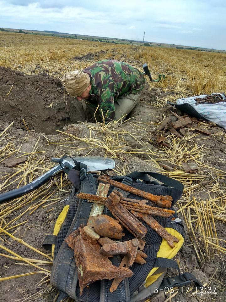 Когда откопал позицию пулемётчика по Первой Мировой или Гражданской (Коп по войне)