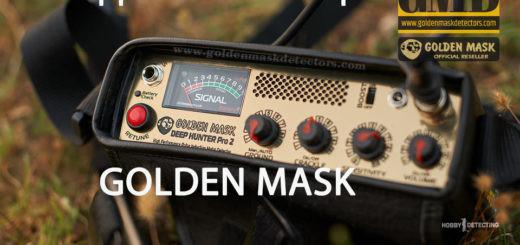 Golden Mask Deep Hunter PRO 2 - демонстрация работы глубинника (видео+)