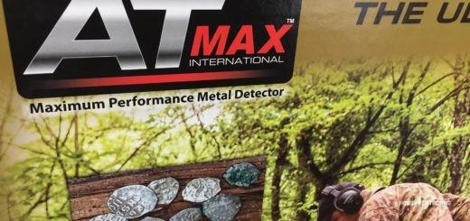Первые видео обновлённого металлоискателя Garrett AT MAX - коп, обзор и прочее!