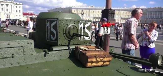 Военная техника со дна реки, выставка (видео+)