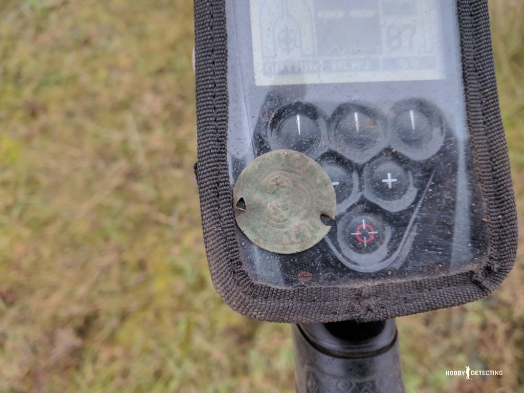 """Катушка XP HF 22.5 см - 9"""" для металлоискателя XP Deus (наш обзор, фото и коп+)"""