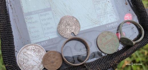 Обычный осенний коп по монетам