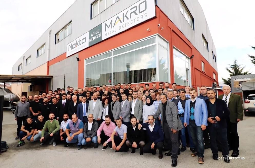 Видеоэкскурсия по производству компании Nokta/Makro (интересно и познавательно!)