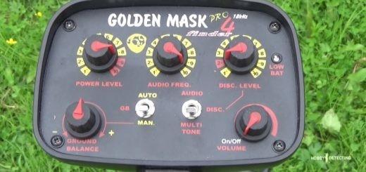 Как правильно произвести настройку грунта на металлоискателе Golden Mask 4 PRO?