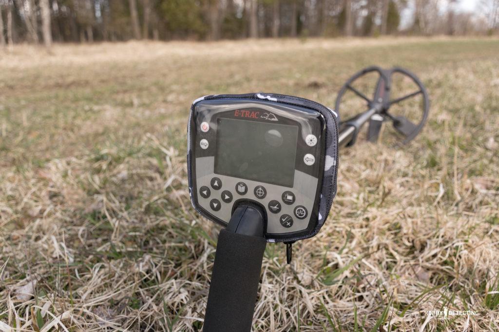 Minelab E-Trac - хоть устаревший, но серьёзный профессиональный прибор для копа! (Наш обзор+)