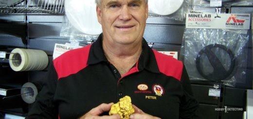 Мужчина нашёл золотой самородок ценой больше $50,000! (фото+)
