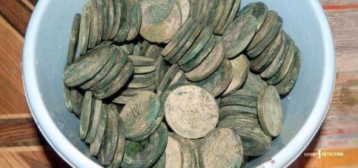 Монеты за иголку (Конкурсная история копателя 2017!)