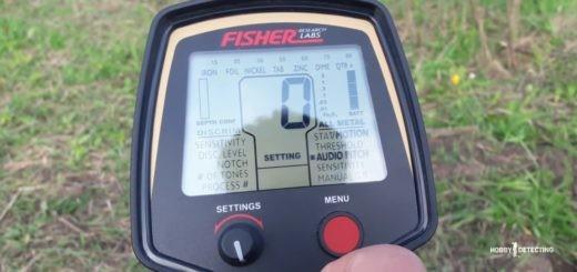 Fisher F-75 - рекомендация по настройкам, как работать с металлоискателем и прочее! (видео+)