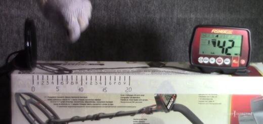 "Воздушный тест катушки-снайперки 4"" для металлоискателя Fisher F44! (результат+)"