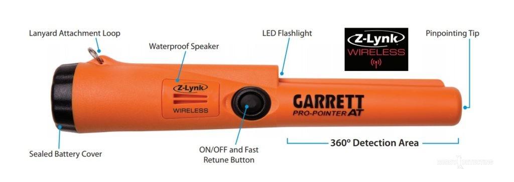 Garrett Pro Pointer AT Z Lynk - новый пинпоинтер от компании Garrett! (фото и данные+)
