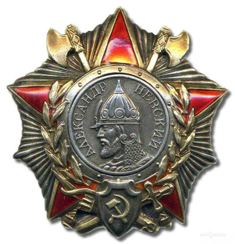 Находка орден Александра Невского и история поиска родственников погибшего офицера