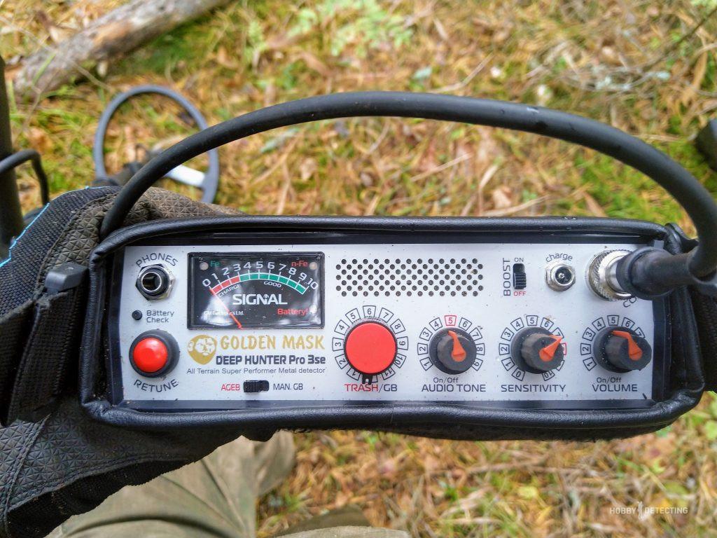 Golden Mask Deep Hunter PRO 3 SE - наш обзор глубинного металлоискателя! (Настройки и советы+)