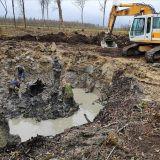 Подъём штурмовика ИЛ-2 под Нарвой (октябрь 2018)